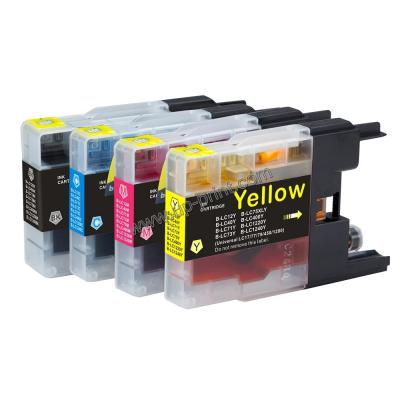 LC12/40/71/73/75/400/1220/1240 compatible brother ink cartridge