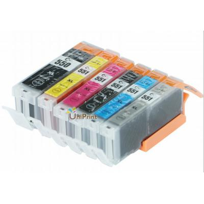 Compatible ink Cartridge PGI550 CLI-551 for Canon IP7250;MG5450/MG5550...