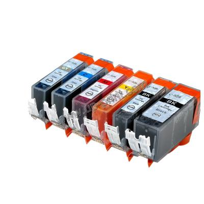 COMPATIABLE INK CARTRIDGE for CANON PGI525 CLI 526 BK 526C 526M 526Y 5...