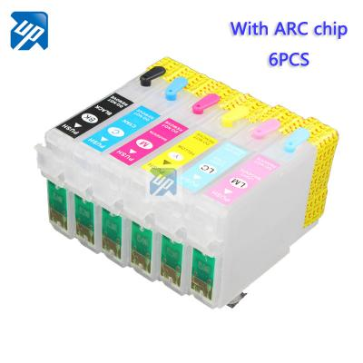 T0801 Refillable ink Cartridge for epson P50 PX650 PX700 PX800 PX710 P...