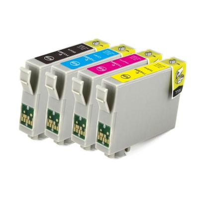T0711 T0712 T0713 T0714 compatible for epson ink cartridge used in Off...