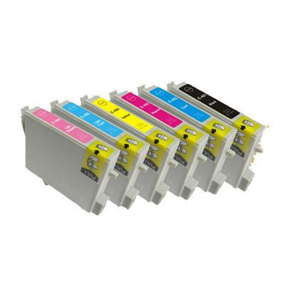 compatible ink cartridge T0481/T0482/T0483/T0484/T0485/T0486 for Epson...