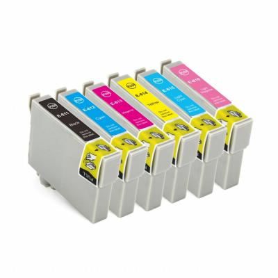 Compatible ink cartridge T0811 for EPSON R390/RX590/R270/RX690/RX610/R...