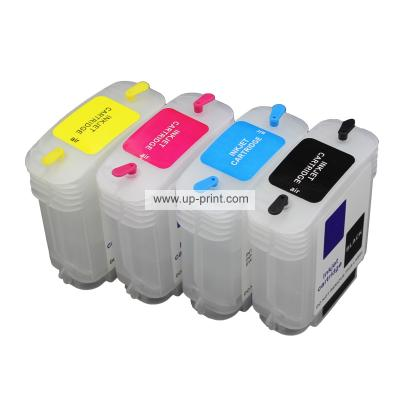 HP10/82(C4844A C4911A C4912A C4913A) Refillable Ink Cartridges for HP ...