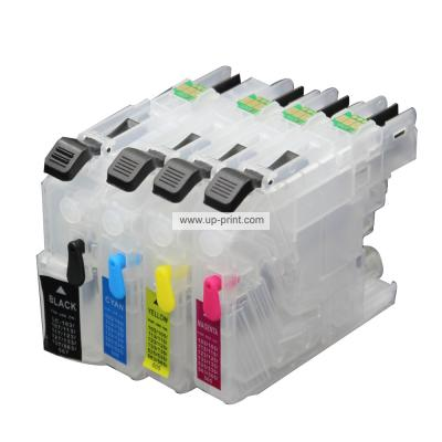 LC131 LC133 LC135 Refillable Ink Cartridges for Brother DCP-J152W J552...