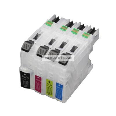 LC663 LC665 LC669 Refillable Ink Cartridges for Brother MFC-J2320 MFC-...
