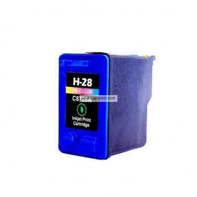 Compatible Ink Cartridges for HP28 tri-color printer Ink cartridge